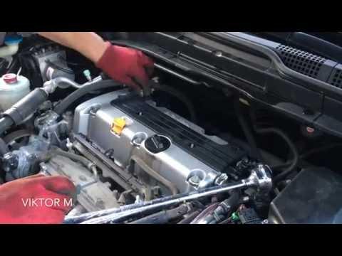 Регулировка клапанов Honda CR-V 3 2.