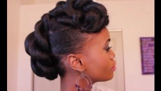 getlinkyoutube.com-Bridal Updo on Ethnic Hair | Mosaic NaturalHair