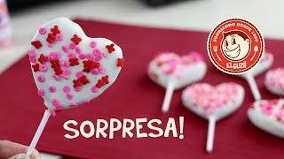 getlinkyoutube.com-♥ Cake Pops Sorpresa! ♥ San Valentín - 14 de Febrero - El Guzii