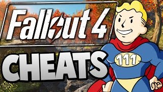 getlinkyoutube.com-Fallout 4 - Becoming a SUPER HERO With CHEATS !!! - Fallout 4 Funny Moments /w Cheats