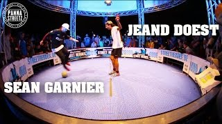 getlinkyoutube.com-Panna legends Jeand Doest & Séan Garnier - Belgian Panna Championship 2013