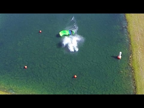 Friday Freakout: Swooper Slams Into Water — Aerial View