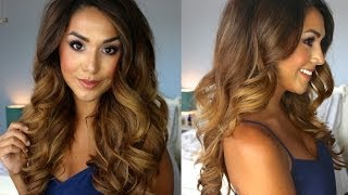 getlinkyoutube.com-Big Glamorous Curls | Lilly Ghalichi Inspired