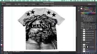 getlinkyoutube.com-How To Design A T-shirt in Adobe Photoshop CS6