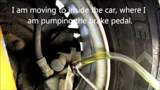 BMW E30 DIY Brake Fluid Flush  YouTube