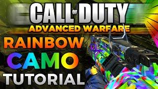getlinkyoutube.com-How to Get Rainbow Camo in Advanced Warfare