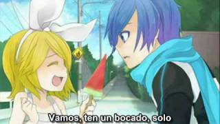 [Hermanas Vocaloid Unidas -Rin Miku Luka- ] Onii Yuukai (spanish subs, mp3 and lyrics) [VOCALOID]