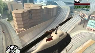 GTA San Andreas - Зацепинг вертолета