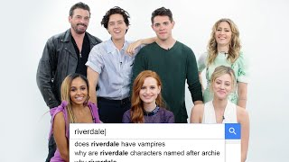 Riverdale Cast Answers the Web's Most Searched Questions   WIRED width=