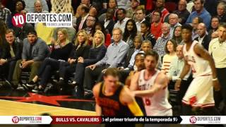 Barack Obama Chicago Bulls vs. Cavaliers Opening Night