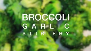 getlinkyoutube.com-Broccoli Garlic Stir fry