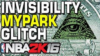 getlinkyoutube.com-NBA 2K16 Invisibility myPark Glitch WTF???
