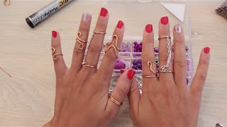 getlinkyoutube.com-كيف تصنع خاتم من سلك النحاس