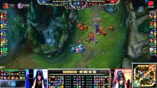 getlinkyoutube.com-[13.08.2015] AG vs YY [ShowMatch - Nữ Nhi So Tài ]