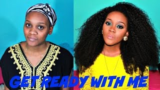 getlinkyoutube.com-Get Ready With Me: Hair and Makeup Edition