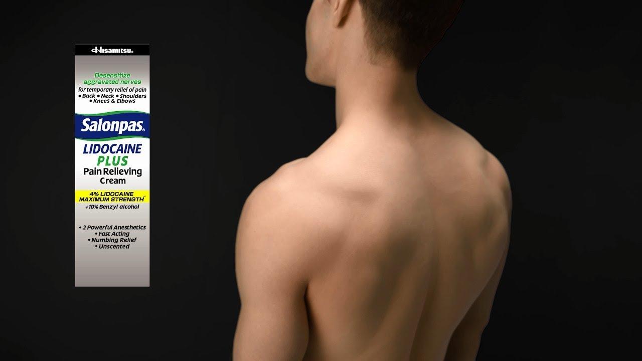 How to apply salonpas salonpas pain relief patch salonpas lidocaine plus pain relieving cream solutioingenieria Choice Image