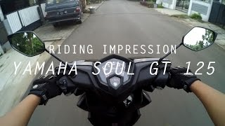 getlinkyoutube.com-#RIDINGIMPRESSION YAMAHA SOUL GT 125 | MOTOVLOG | ENGLISH SUBTITLE