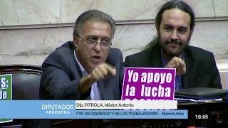 """""""Hoy su gobierno fue derrotado por una masiva movilización docente"""" // Pitrola a Peña"""