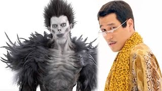 getlinkyoutube.com-PPAP Long Version: Piko Taro with Ryuk (Death Note)