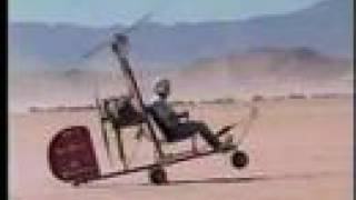 getlinkyoutube.com-Gyrocopter High Wind Takeoffs at El Mirage