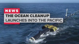 The Ocean Cleanup launches to the Great Pacific Garbage Patch width=