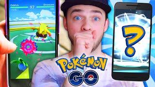 getlinkyoutube.com-Pokemon GO Gameplay - GYM BATTLES & HOW TO EVOLVE!