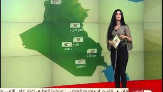 انجي علاء نشرة جوية جديدة