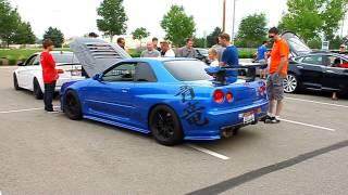 getlinkyoutube.com-Boise Cars and Coffee -- Nissan Skyline GT-R R34