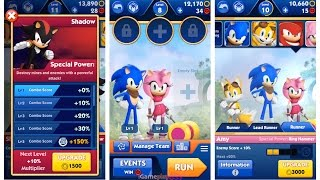 getlinkyoutube.com-Sonic Dash 2 Sonic Boom - Shadow ^ Sticks ^ Tails ^ Sonic ^ Amy | I Love This Game