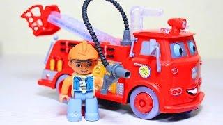 getlinkyoutube.com-Мультфильмы про машинки  Пожарная машина  Мультики для детей