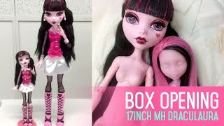 getlinkyoutube.com-Box Opening: 17inch Frightfully Tall Ghouls Draculaura