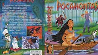 Promo VHS Pocahontas