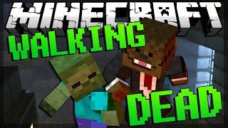 getlinkyoutube.com-FRIED CHICKEN CHAMPION Minecraft Walking Dead Minigame (Blocking Dead) #5