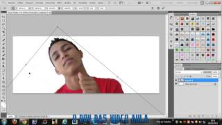 getlinkyoutube.com-TUTORIAL - COMO TIRA FUNDO DE FOTO - PhotoShop cs5  O BOY DAS VIDEO AULA
