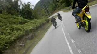 getlinkyoutube.com-Y135C Weekend Ride (135LC @ Bukit Tinggi)