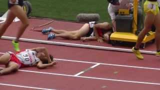 getlinkyoutube.com-日本陸上 Men 800m 決勝 Final Track Athletics 2013.6.9