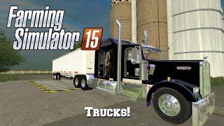 getlinkyoutube.com-Farming Simulator 2015: Mod Spotlight #53: Trucks!