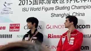 getlinkyoutube.com-2015世界選手権大会 スモールメダル表彰式 @上海