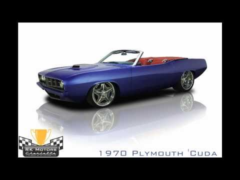 132312/1970 Plymouth 'Cuda
