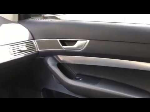 1 обтягиваем молдинги салона Audi A6 C6 в алькантару