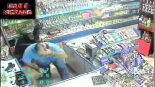 Ladrão da Faca se deu mal no Free Shop