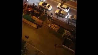 Sokağa çıkma yasağı gelince Samsun'da izdiham yaşandı