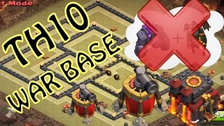 getlinkyoutube.com-NUOVO TH10 WAR BASE // ANTI GOLAVA | Clash of clans ITA