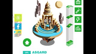 How To Unlock Asgard In BILLIONAIRE APP/GAME!!!