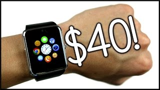getlinkyoutube.com-Smartwatch for $40!?