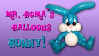 getlinkyoutube.com-Bunny Rabbit Balloon Animal Tutorial (Balloon Twisting and Modeling #28)