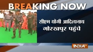 Yogi Adityanath's first visit to Gorakhpur after being sworn in as UP CM