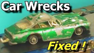 getlinkyoutube.com-Wrecked Toy Cars Made Good