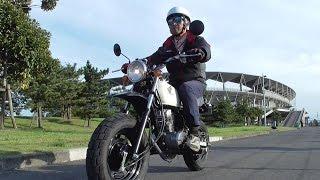 getlinkyoutube.com-原付バイク運転体験:HONDA Ape50 Riding experience