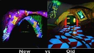 getlinkyoutube.com-Alice In Wonderland : Side-by-Side Comparison (Before & After 2014 Refurbishment) - Disneyland